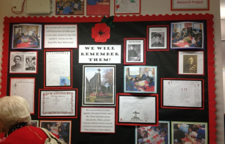 Display of work 'We will remember'