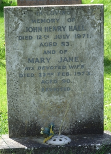 John Henry Hall and Mary Jane Scrimshaw