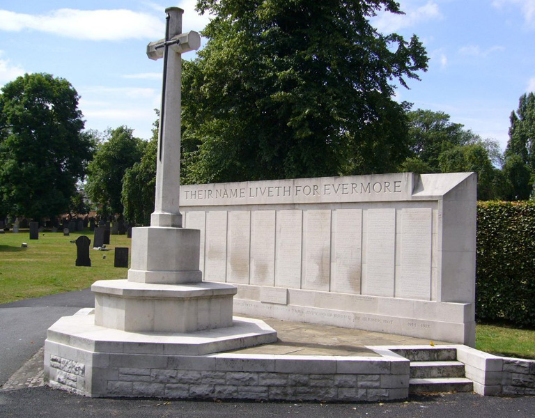 Nottingham General cemetery Memorial