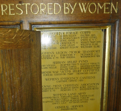 Ethel Smith memorial