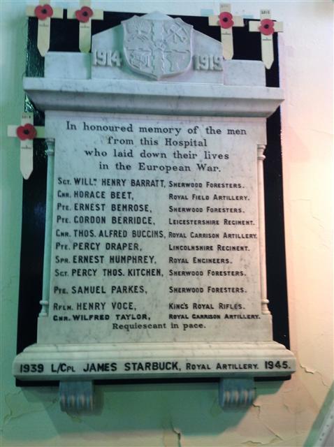 Saxondale memorial
