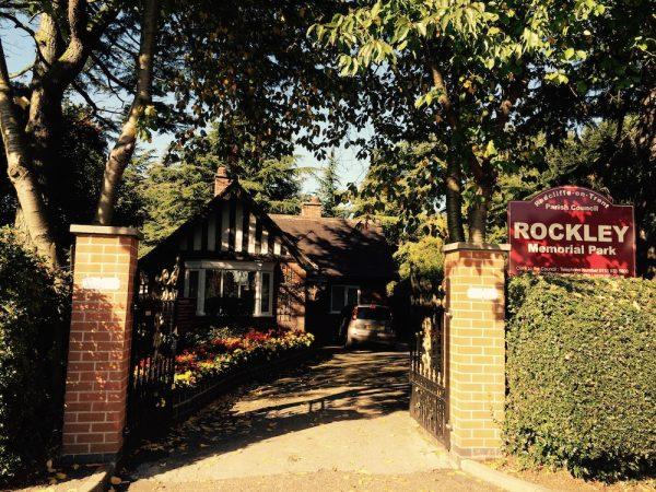 Rockley Memorial Park main gate