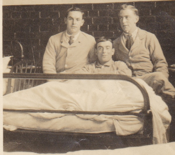 Jack Berry in hospital bed