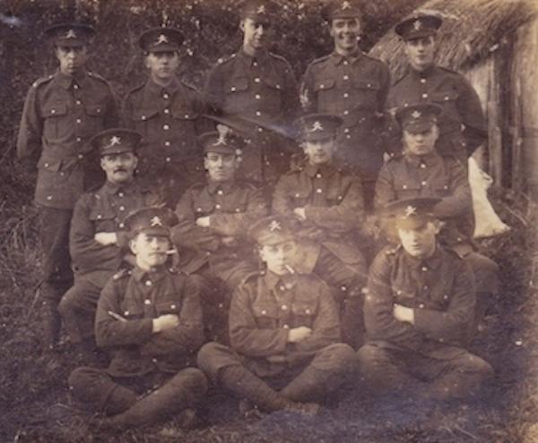 Tank Corps Bovington Camp 1916