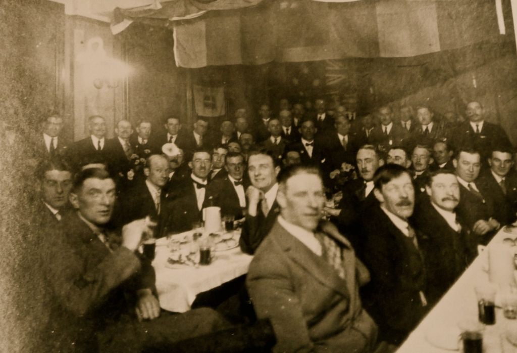 2a-19 ed Original meeting of ROT British Legion 1920