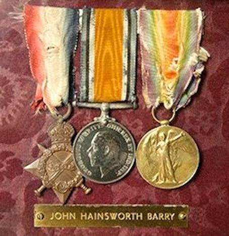 Jack Barry Medals
