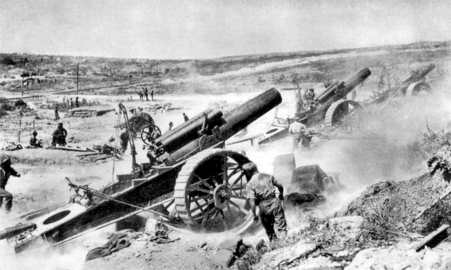 39th Siege Battery Somme