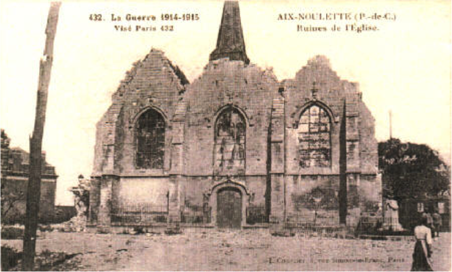 Ruins Aix-Noulette church