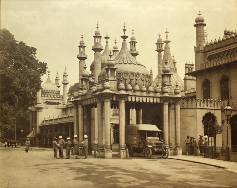 Brighton Pavilion WW1