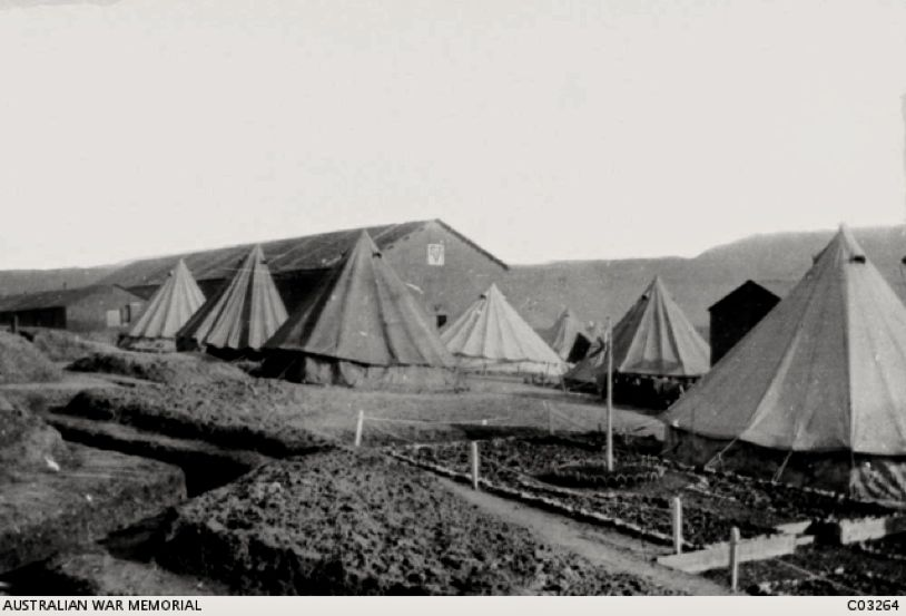 Army tents Le Havre