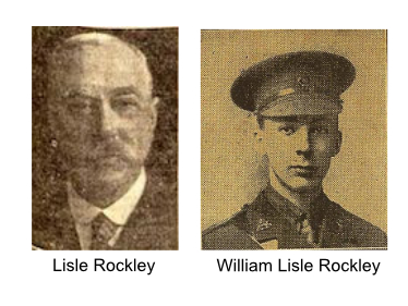 Lisle Rockley and son