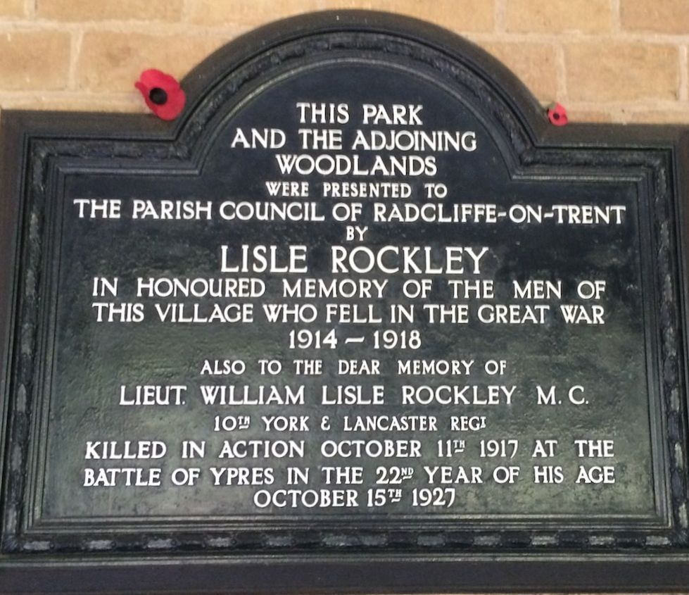 Rockley Plaque