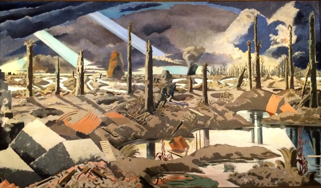 The Menin Road (1919) by Paul Nash