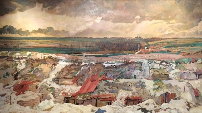 The Old German Front Line, Arras, 1916 (1919) by Charles Sims (1823-1928)