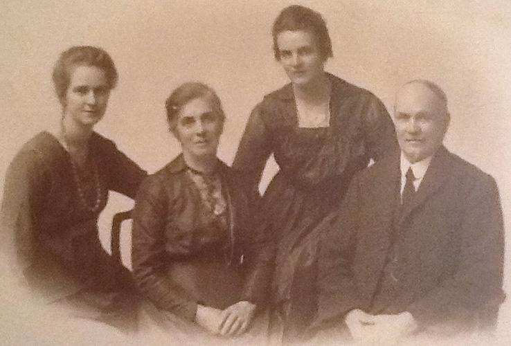 Newbury family post war