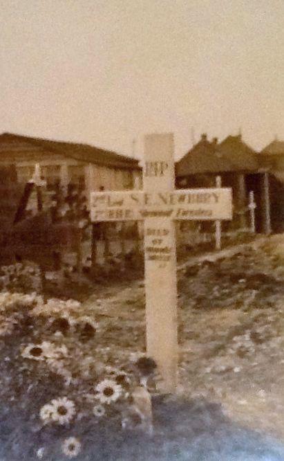 Sidney Newbury wooden cross