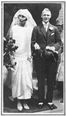 Mary Bethune & Gerald Spicer marriage 1925