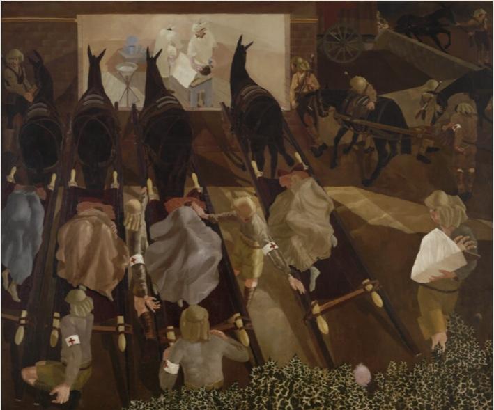 Stanley Spencer horses
