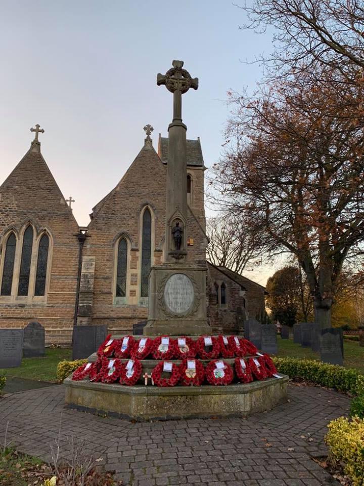 war memorial Nov 2018