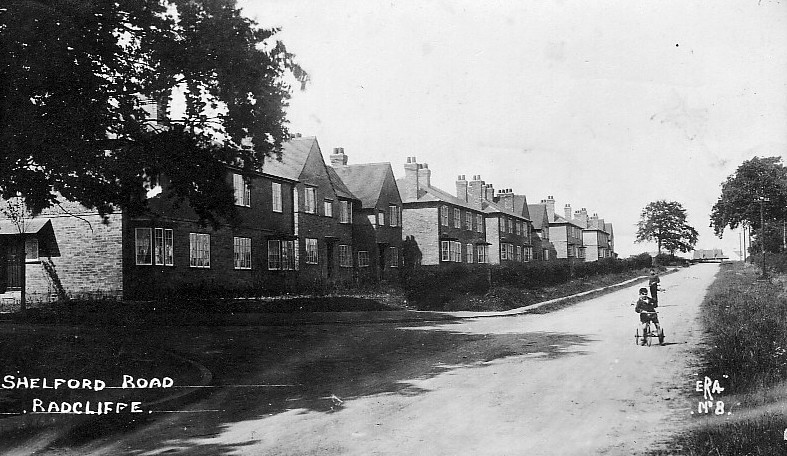 Homes For Heroes Radcliffe On Trent Ww1